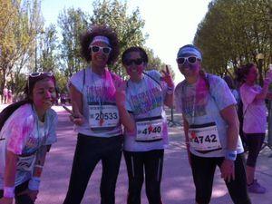 J'ai participé à la Color Run 2015 !