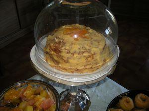 Carrot cake Crème caramel Yaourts fruits rouges Banana bread,Salade de fruits, Pommes au four .Gateau de crêpes