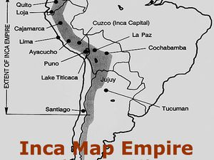 Cartes de l'Empire INCA