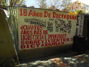 La fête du dimanche sur le Prado (Avenida de 16 de julio)