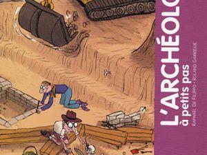 Quelques titres pour les jeunes amateurs d'archéologie…