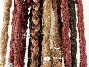 [Dreads et accessoires] Les cheveux d'Aurélie : en mode sauvageonne