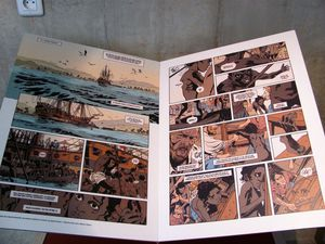 Quelques reproductions de la BD