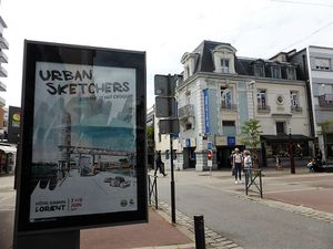 Lorient se fait croquer... en coulisses