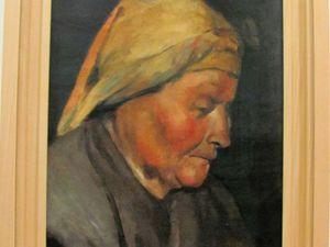 Portrait de vieille paysanne 1895 - Portrait de vieillard 1895