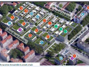 Les quartiers de l'Est grenoblois : Abbaye et Teisseire