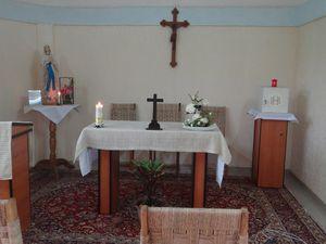 Bénédiction de la chapelle St Arnold Janssen à Agbalépédogan, Lomé