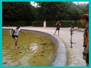 Trailball au Parc de Sceaux
