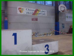 Foulée hivernale de Châtenay-Malabry 2015.