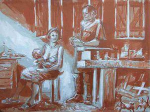 L'atelier de Joseph ou la Sainte Famille 2.