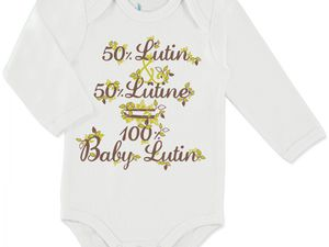De la naissance au 24 mois pour les bodies, 3-4 ans pour le tee-shirt.