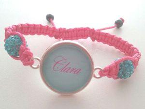 Exemples de bracelets dans les différentes couleurs