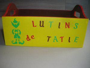Boîte dans le thème Lutin