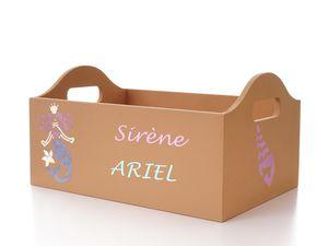 Boîte sur le thème Sirène