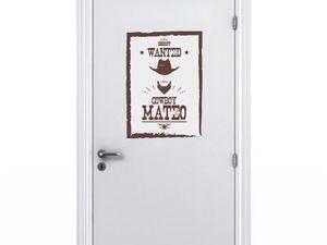 Un large choix pour décorer la chambre de votre Cowboy comme vous le souhaitez !