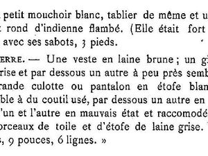 Meurtres en 1811 : l'affaire Madeleine ALBERT