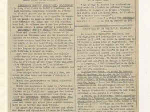 Unes de France d'abord (janvier et septembre 1942)