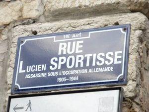 Un nom, un résistant : Lucien SPORTISSE à Lyon