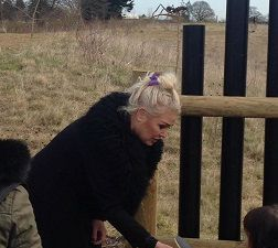 &quot&#x3B;Kim Wilde dans les jardins du Butterfly World Project&quot&#x3B;
