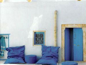 Match déco - ambiance colorée ou minérale pour la terrasse