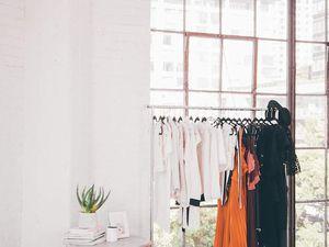 Les bureaux d'une blogueuse mode