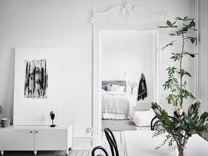 Un appartement blanc