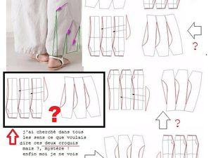 puis croquis proposés sur le site du pantalon en question.