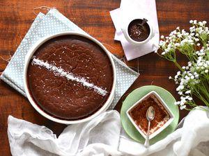 Gâteau végétal ultra-fondant choco-coco { Avec ou sans gluten }