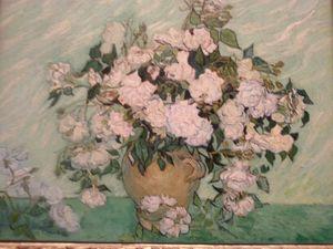 C'est le printemps, les jardins sont en fleurs - en vrai et sur cette toile de Van Gogh à la National Gallery.