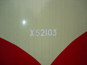 L'autorail XABDP 52103