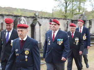 Traditionnelle cérémonie à la mémoire des soldats morts pour la France à La Balme les Grottes