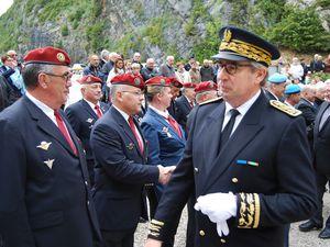 8 mai 2017 commémoration départementale au Mémorial du Val d'Enfer à CERDON