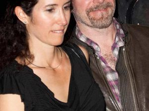 The Edge et sa femme Morleigh : Une danceuse de la tournée Zoo Tv