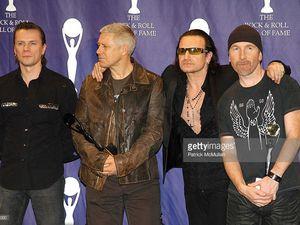 U2 -20e Panthéon annuel du Rock and Roll -14/03/2005