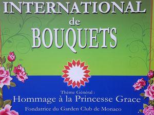 Concours de bouquets 2017 Monaco