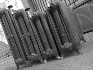 1913 American Radiator Company radiateur lisse &quot&#x3B;Peerless&quot&#x3B;