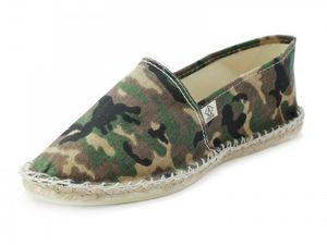 L'espadrille  camouflage  #arsène  Ou les slip on #Victoria