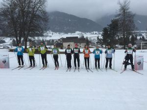 Groupes GUC Adultes : Une séance d'initiation biathlon au top!
