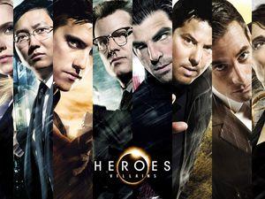 Heroes Reborn 2015 mini serie + Le making of de la série Heroes