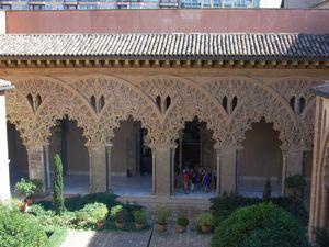 Saragosse palais de l'Aljaferia