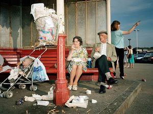 1990s, L'Angleterre de Martin Parr.