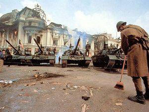 1989, révolution roumaine, Anonymes.