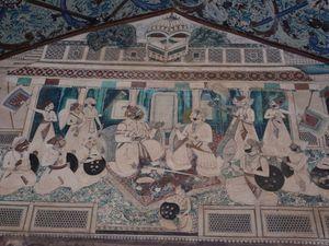 Peintures du Mahal