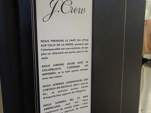 Un grand nom en exclu : J Crew