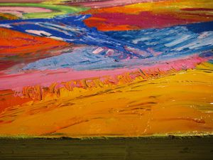 PAYSAGE ABSTRAIT HT - 20 euros