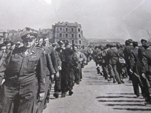 Photo 1 : Troupes américaines au Havre
