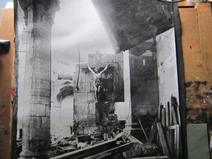 Photo 2 - Sept 1944 - Ruines de l'église Saint Michel