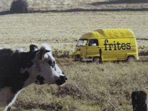 Packaging de pommes de terre du Val de Loire, Publicité pour un camion de frites, Cl. Elisabeth Poulain