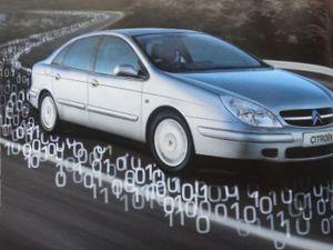 Paysages-voitures-Citroën-C5-Pajero-Mitsubishi-Geo-2001.06-Cl. Elisabeth Poulain