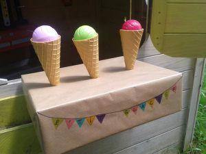 Le p'tit marchand de glace (DIY express)